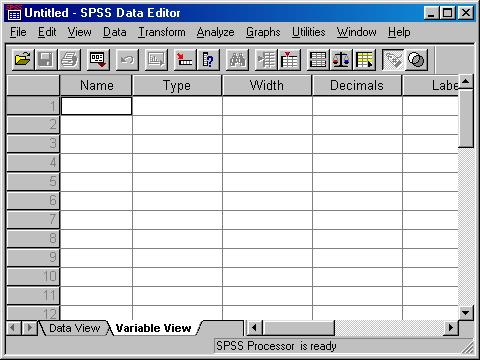 how to create shortened type variables spss